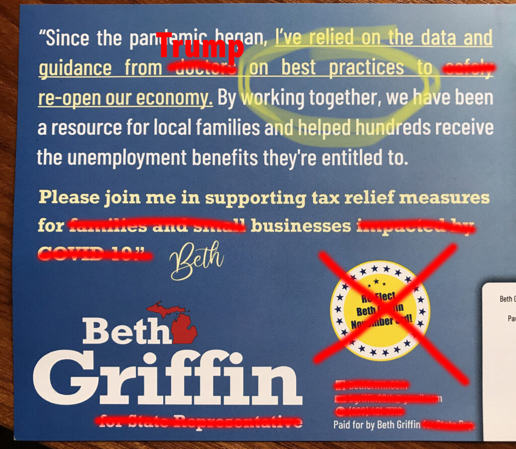 Beth Griffin is a liar
